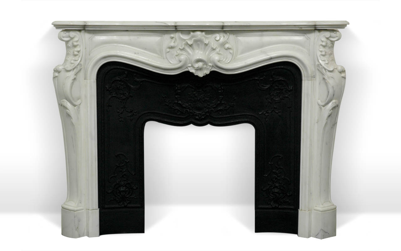 comtesse de mailly custom made marble fireplace mantel. Black Bedroom Furniture Sets. Home Design Ideas