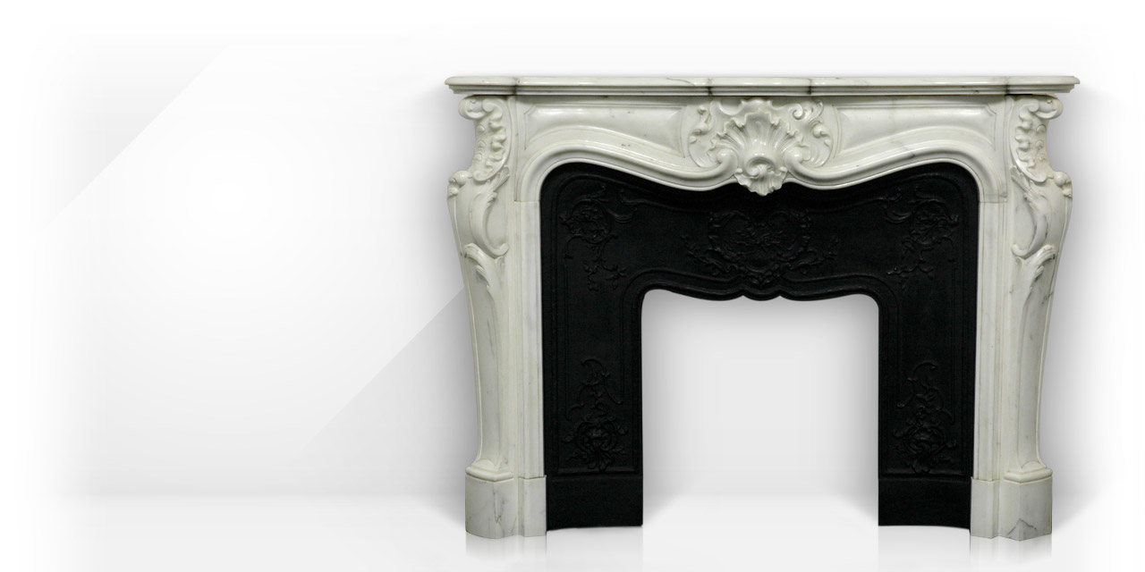 Comtesse de mailly custom made marble fireplace mantel of louis xv the comtesse de mailly mantel is a custom made mantel with a richly carved decor teraionfo