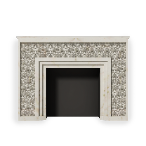Exclusive french fireplace mantels designs by maison for Model decoration maison