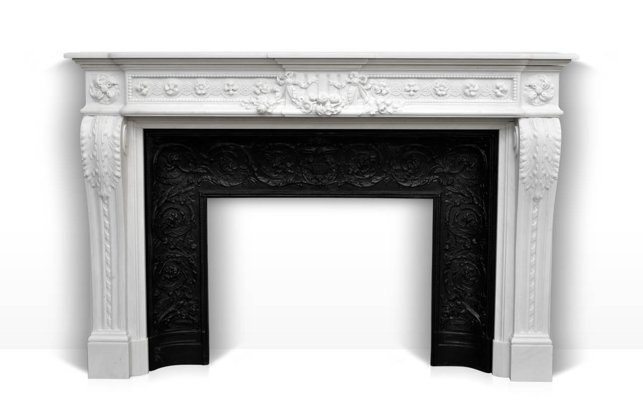 Get Style fireplace mantels with exclusive french style