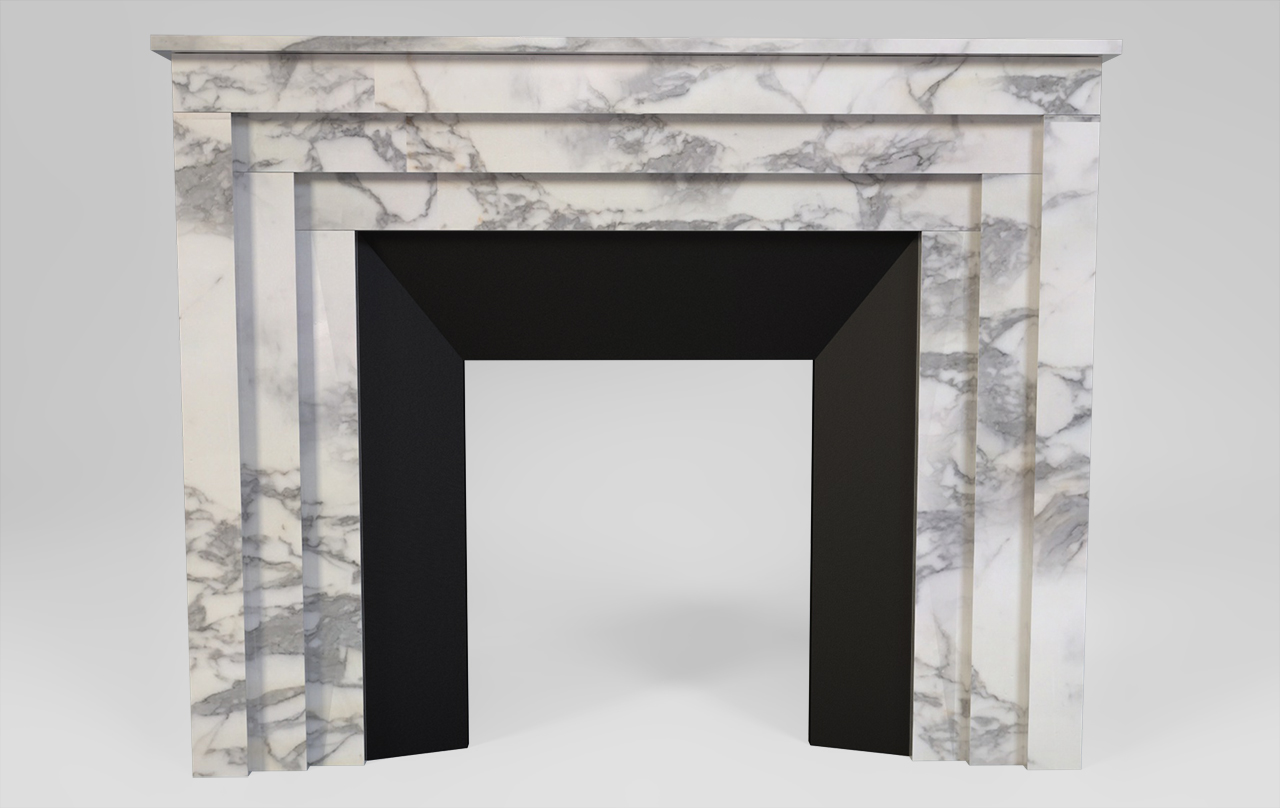 Maison & Maison, modern fireplaces designers, allows you to create your own custom-made fireplace mantel based on the
