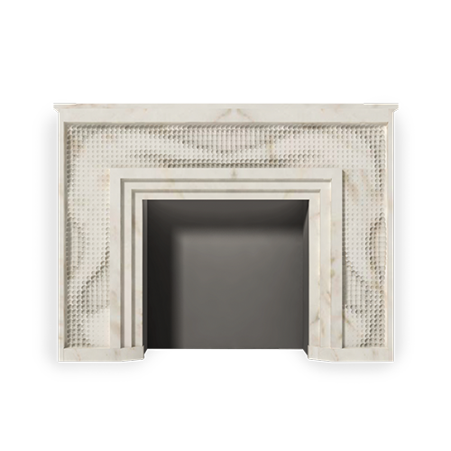 Maison & Maison, designers and creators of exclusive models of fireplaces in marble,   present a new, made-to-measure futuristic model: Soundwave
