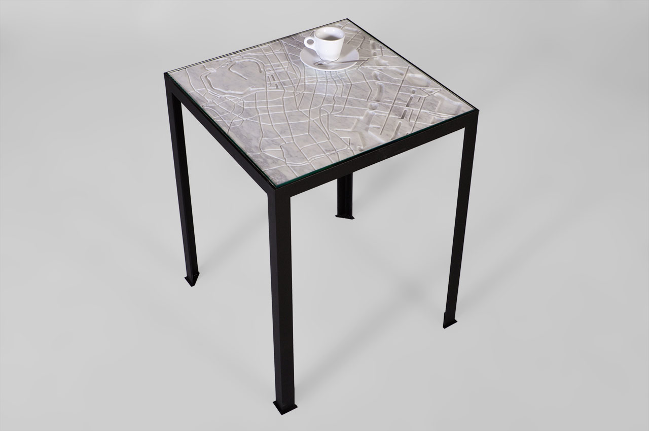 Maison & Maison, marble designers and craftsmen, presents its CITY collection of marble coffee tables and side tables inspired by the greatest cities in the world: Tokyo