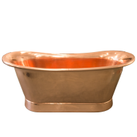 Maison & Maison, French designers and craftsmen, presents its Coba collection of copper bathtub inspired by the classical french style