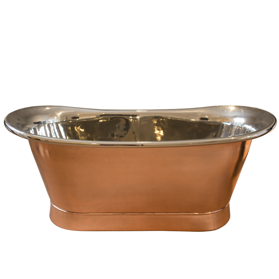 Maison & Maison, French designers and craftsmen, presents its Coba collection of copper bathtub with inside chrome inspired by the classical french style