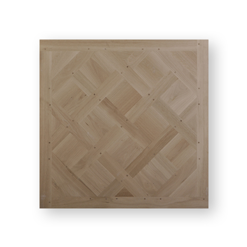True top of the range parquet in Versailles panels made from new solid oak by Maison & Maison.