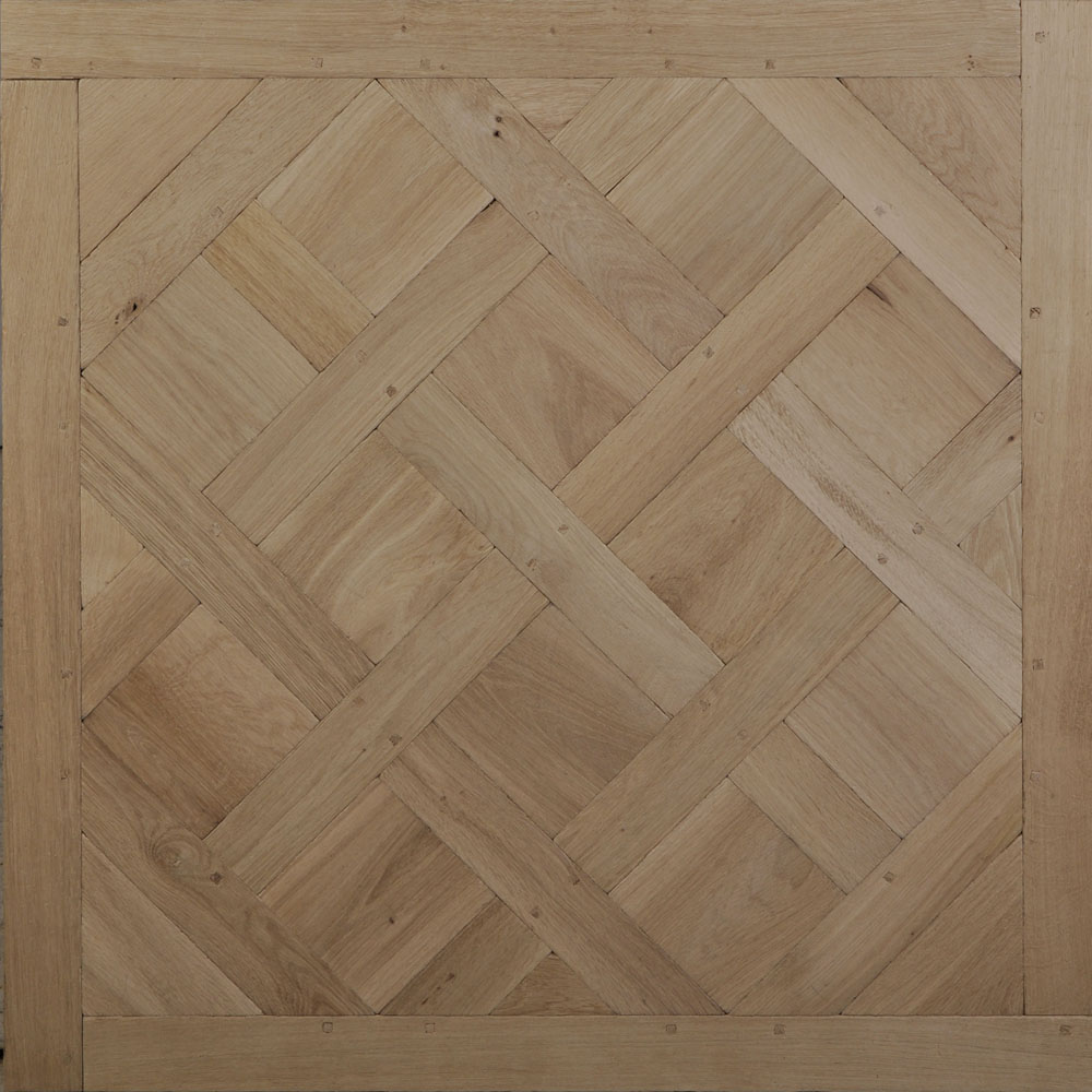 Versailles Parquet Panels In Solid Aged Oak By Maison