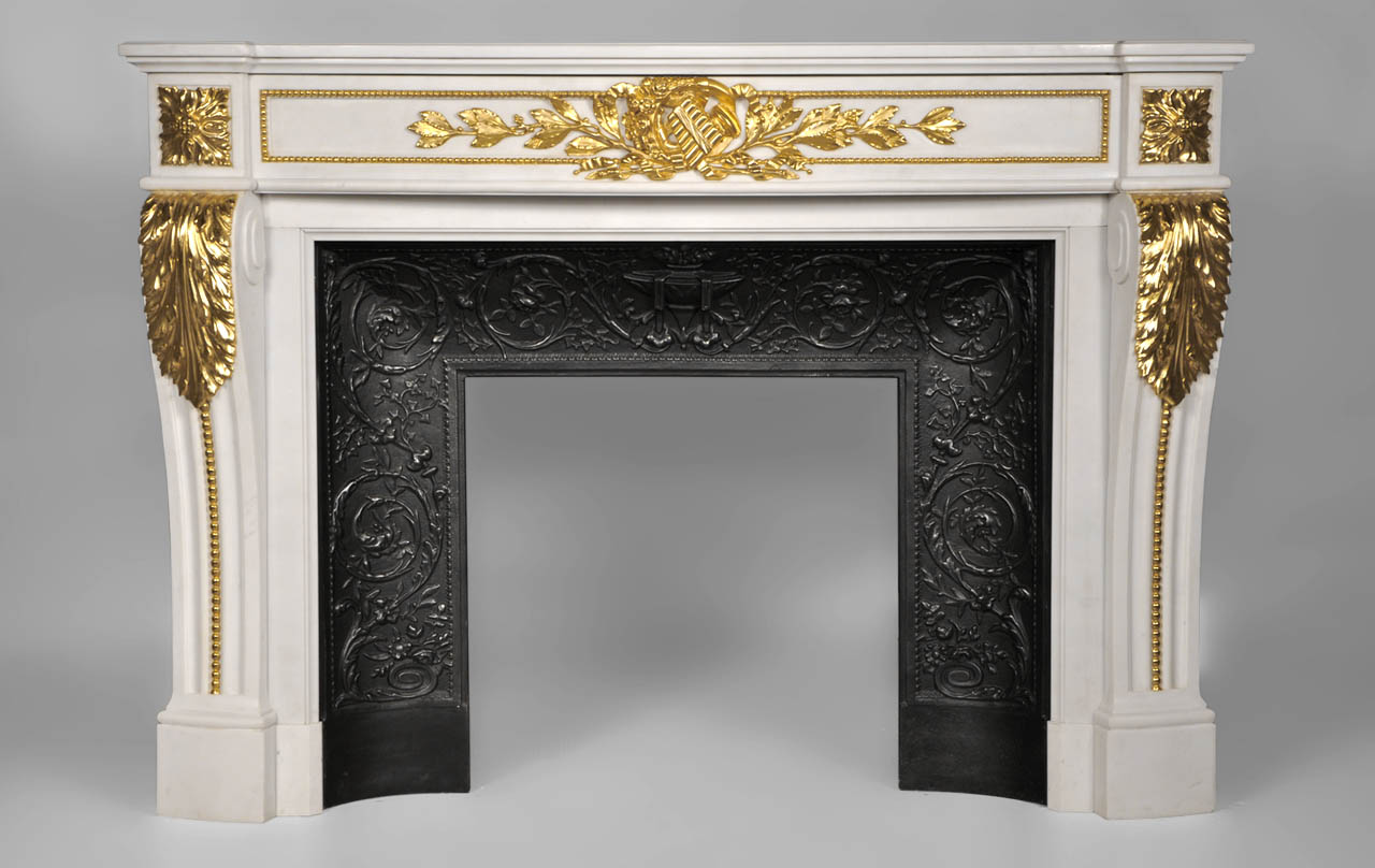 Quot Arcadia Quot Louis Xvi Style Fireplace Made Out Of White P
